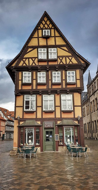 Café in Quedlinburg...