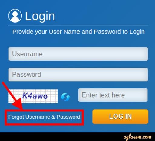 Retrieve Forgotten Password to Download BPSC APO Admit Card 2020