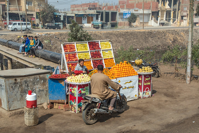 A Drive Thru Market in Egypt