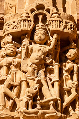 Jaisalmer 237 - Jain temple - C  (由  fernandodelatorre