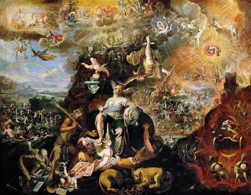 Joseph Heintz the Younger - Allegory of the Apocalypse , 1674