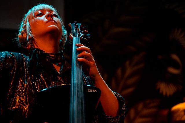 Murder By Death; Sarah Balliet on the cello.