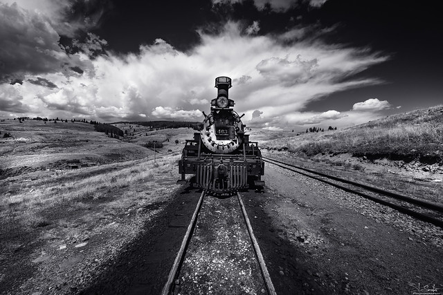 Lunch Stopp - Cumbres & Toltec Scenic Railroad - Colorado - USA
