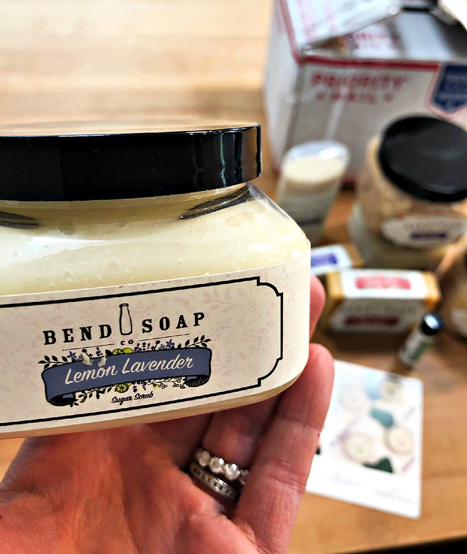 bend soap scrubs