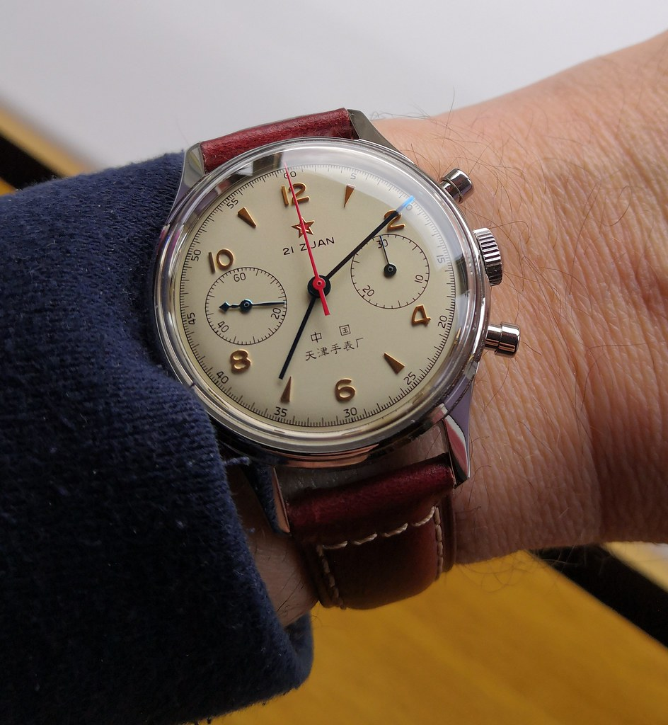 Tianjin  1963 Chinese Airforce watch (Cal ST19)