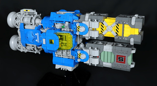 Blue Lobster Cargo Shuttle