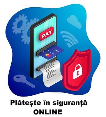Plateste online securizat cu cardul