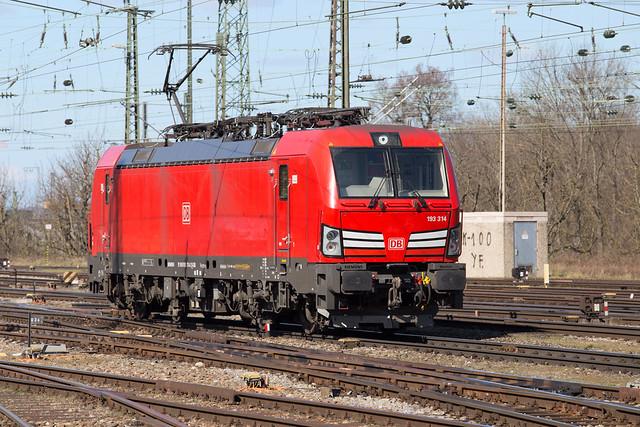 DB Cargo 193 314 Basel Badischer Bahnhof