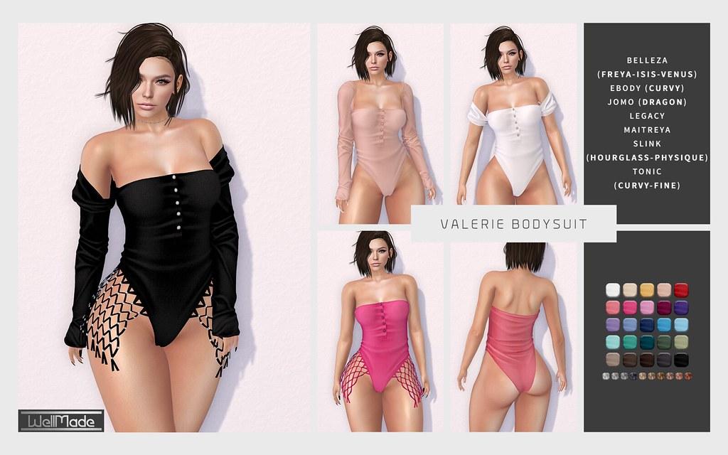 [WellMade] Valerie Bodysuit