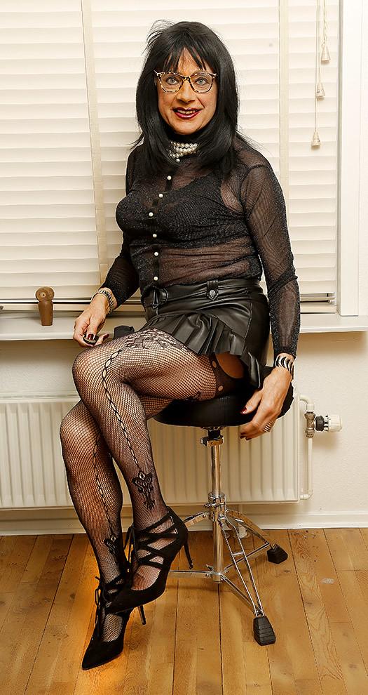 Susan on chair