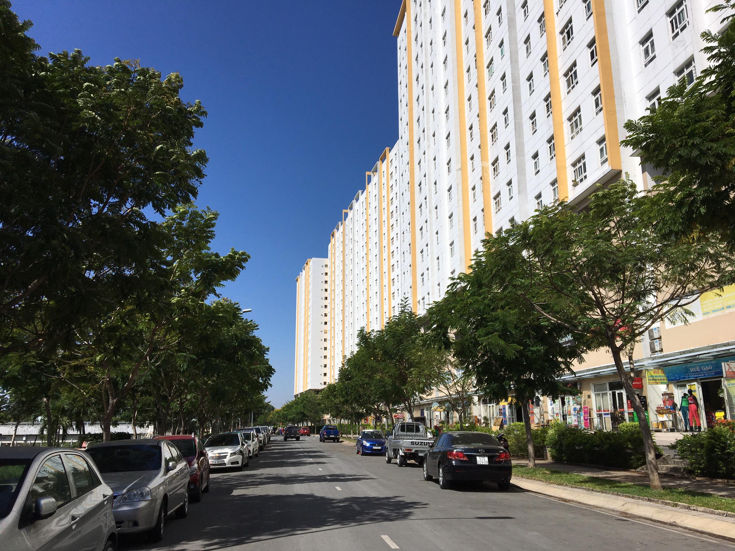 Căn hộ Sunview Town diện tích 64m2 với 2 phòng ngủ ở đường Gò Dưa, quận Thủ Đức.