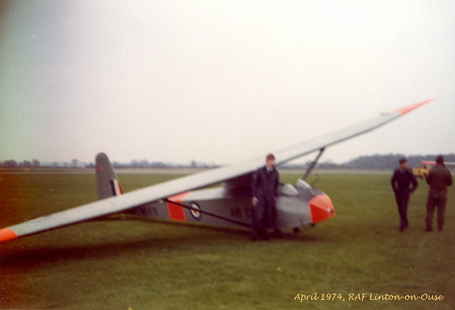 My first glider flight