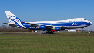 VQ-BWW | B747-406F(ER) | AirBridgeCargo Airlines | by Mark Remmel