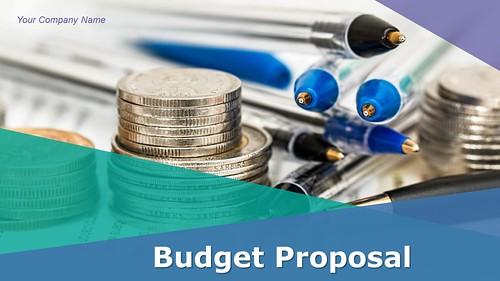 Budget Proposal PowerPoint Presentation