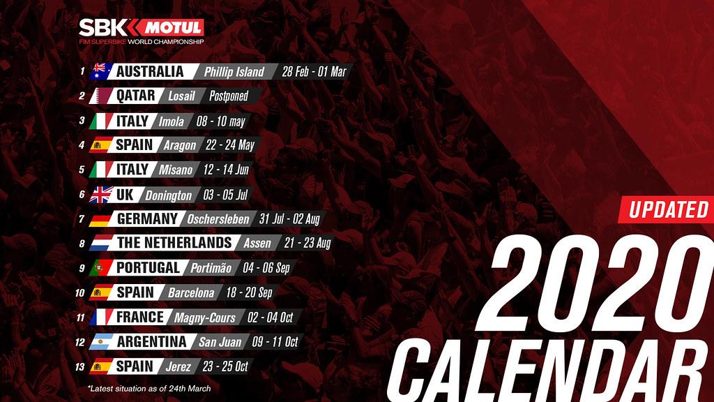 WSBK Schedule