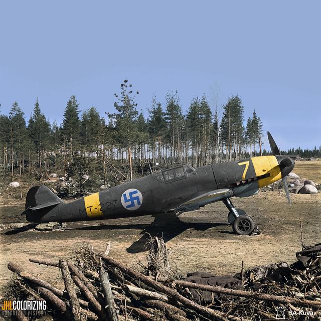 Finnish Messerschmitt, 1944