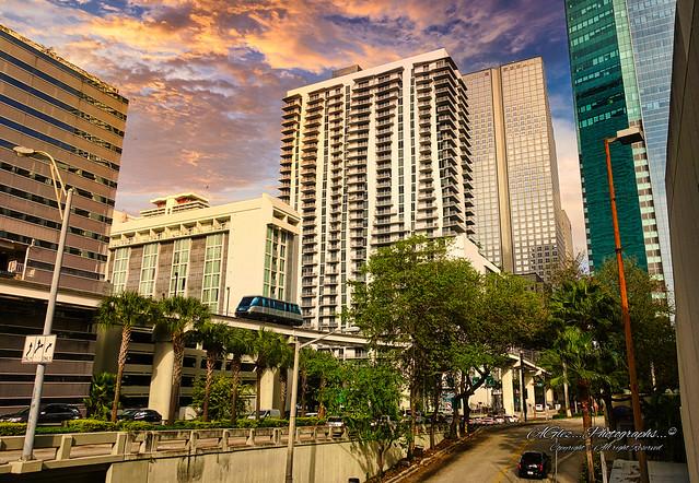 A view of Downtown from Hyatt Regency Miami