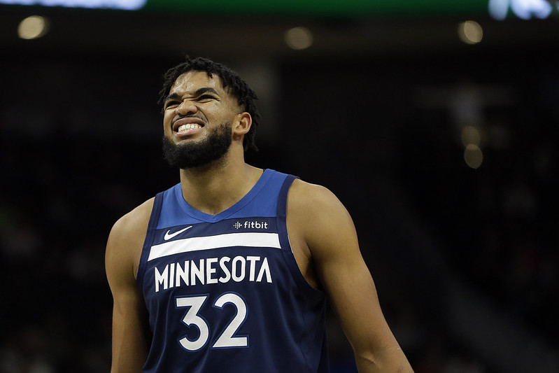 Karl-Anthony Towns。(達志影像資料照)
