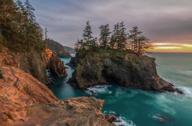 Evening on the southern Oregon Coast