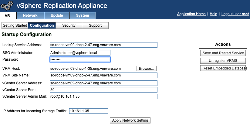 Install and Configure vSphere Replication with SRM 8.3