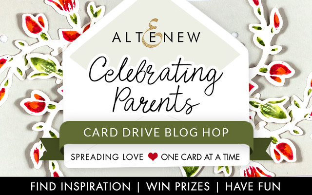 Card Drive Blog Hop Graphic