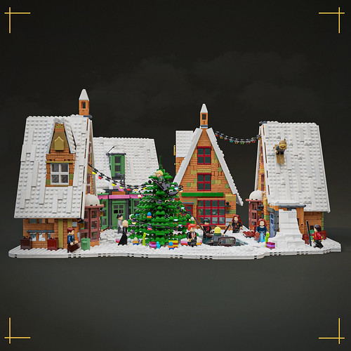 Magic of Christmas in Hogsmeade