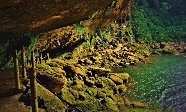 MEXICO, Chiapas , Wasserfall von Misol Ha, nahe Palenque, , 19617/12511