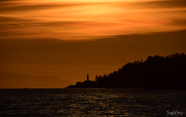 Sunset & Silhouette - Lighthouse Park, West Vancouver
