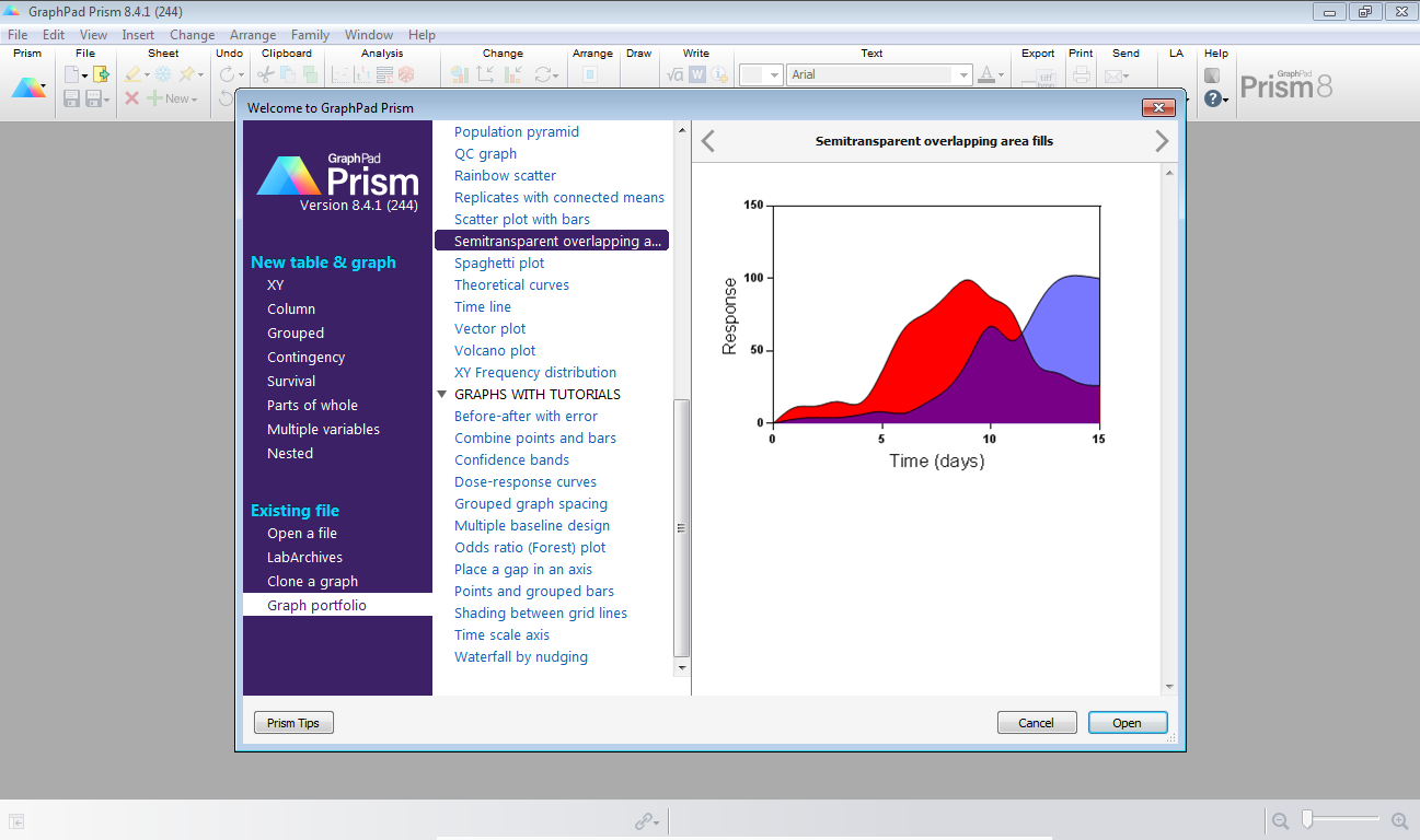 Working with GraphPad Prism 8.4.1.676 full license