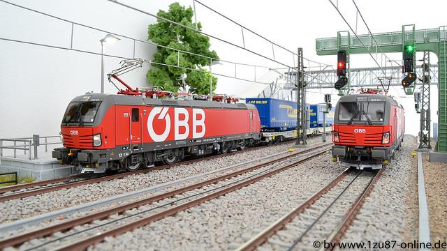 Roco 73953-3 E-Lok 1293 039 der ÖBB und Roco 73953 E-Lok 1293 001 der ÖBB
