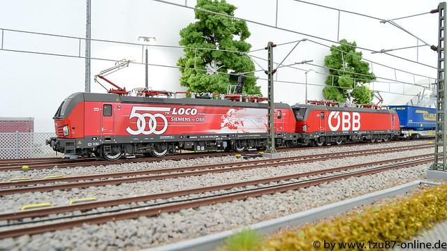 Roco 73907 E-Lok 1293 018 der ÖBB und Roco 73953-3 E-Lok 1293 039 der ÖBB