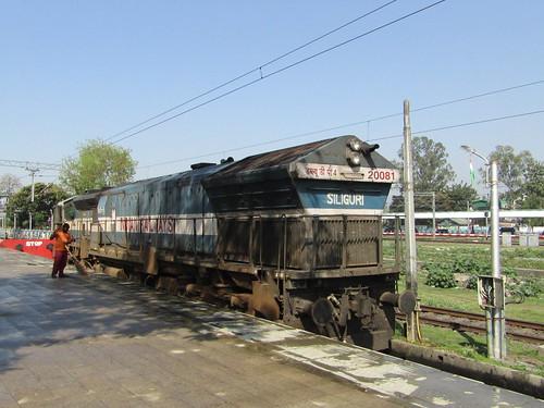 indianrailways northeastfrontierrailway newjalpaiguri 20081 wdp4