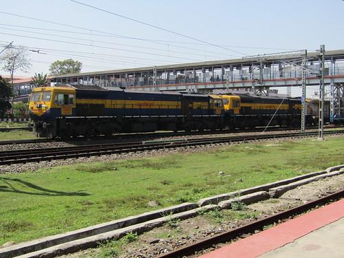indianrailways northeastfrontierrailway newjalpaiguri wdg4d 70436 70760