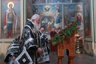 25.03.2020 | Литургия Преждеосвященных Даров в Иверском монастыре