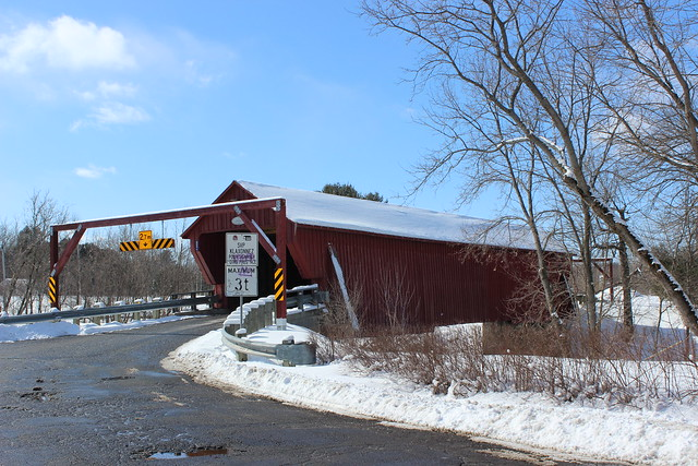 Freeport Covered bridge in Cowansville, Qc