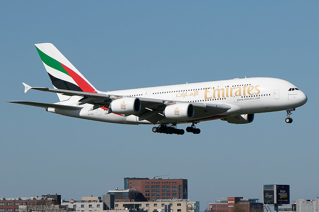 A6-EDX, Airbus A380-861, Emirates