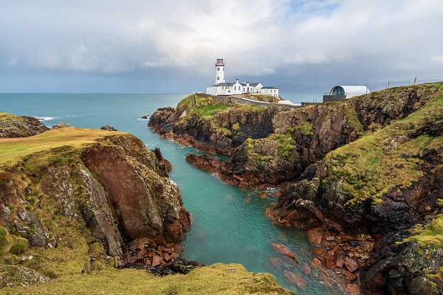 Fanad Lighthouse of Donegal, Ireland