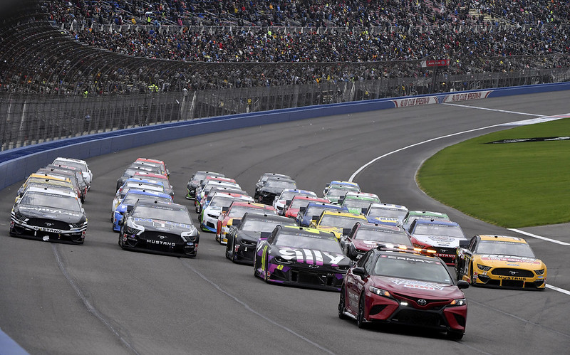 NASCAR。(達志影像)