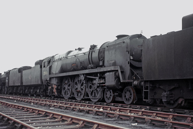 35005 Can Pac at Barry scrapyard 21-05-1966