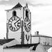 Portugal - Tavira - Igreja de Santa Maria do Castelo bell tower