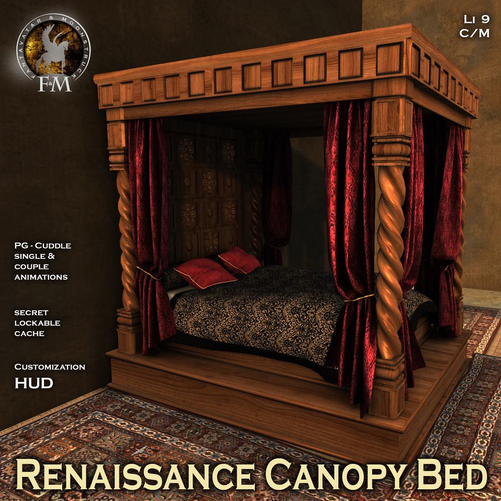 F&M Renaissance Canopy Bed