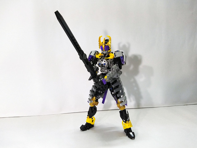 LEGO Kamen Rider Kuuga - Titan form (仮面ライダークウガ)