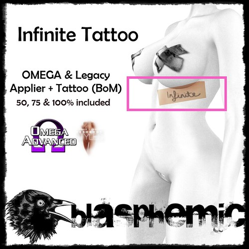BLASPHEMIC - Infinite Tattoo - Ad