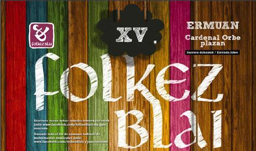 Logotipo de Folkez Blai 2020