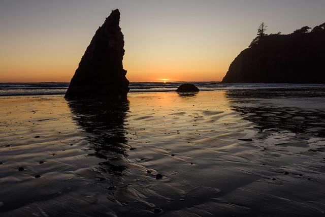 Clear Evening - Ruby Beach