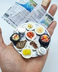 Miniature Sculpture Food