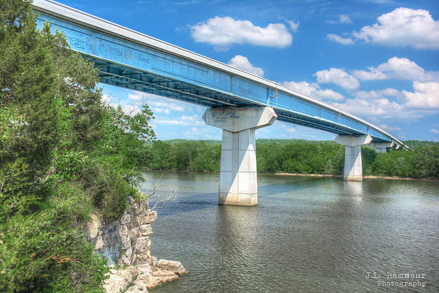 Tennessee River Bridge - Perryville, Tennessee