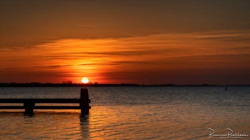 Sunset Grevelingen
