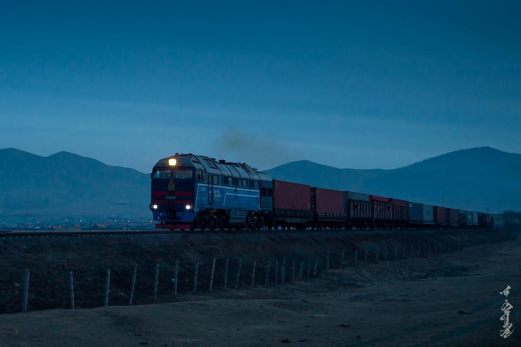 Night train...