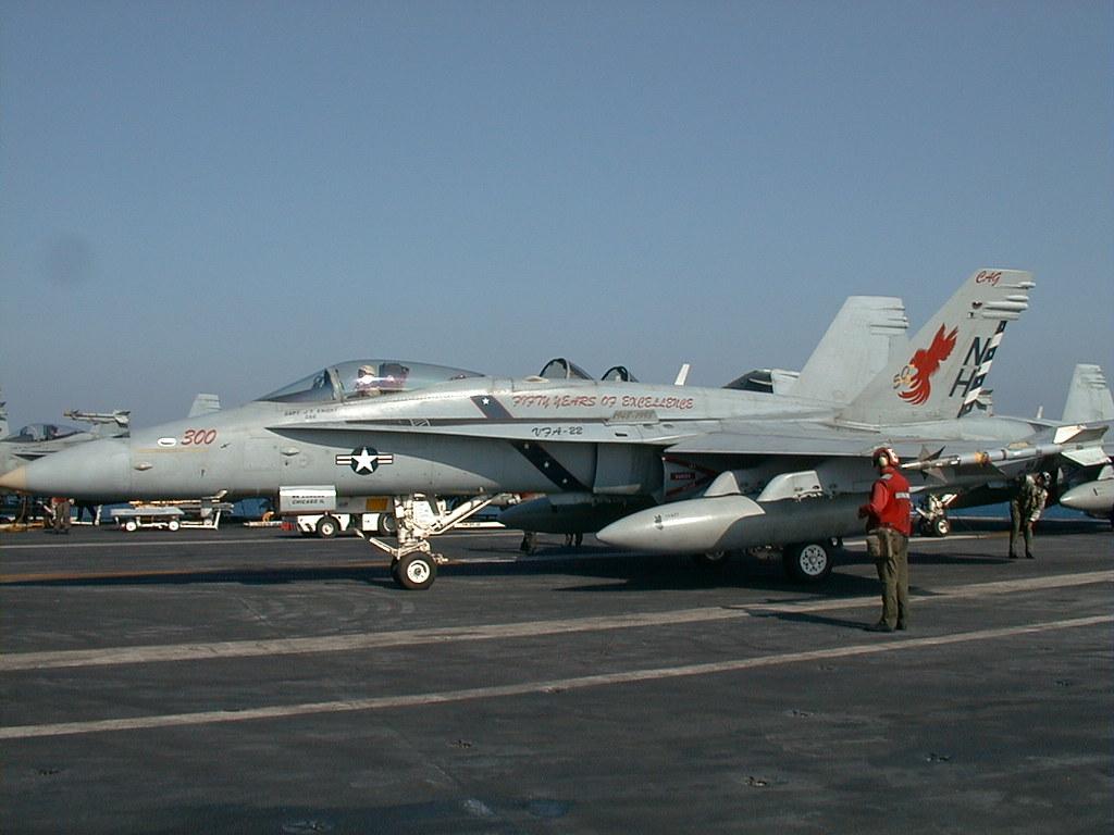 VFA-22 CAG Bird